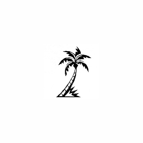 Palm Tree 02 Size option will determine the size from the longest side Industry standard high performance calendared vinyl film Cut from Oracle 651 2.5 mil Outdoor durability is 7 years Glossy surface finish