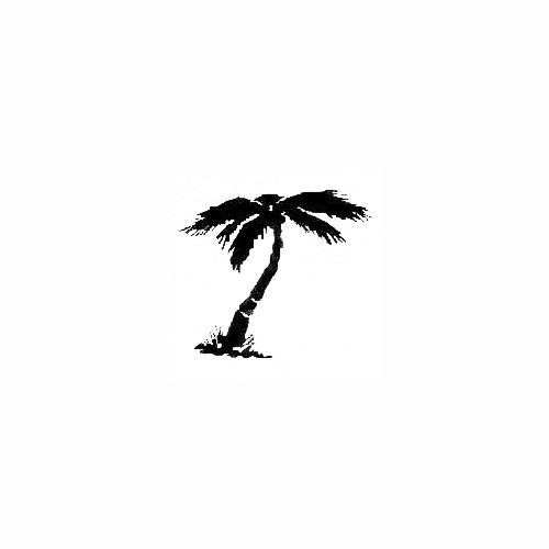 Palm Tree 03 Size option will determine the size from the longest side Industry standard high performance calendared vinyl film Cut from Oracle 651 2.5 mil Outdoor durability is 7 years Glossy surface finish