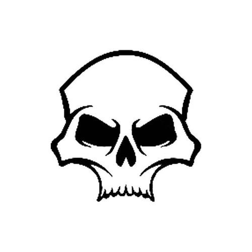 Skull 254 Vinyl Sticker