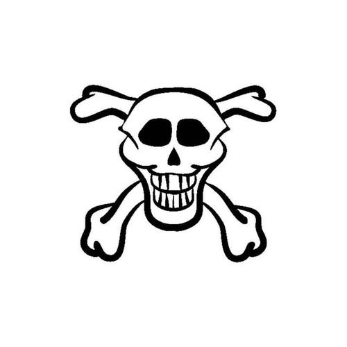 Skull 258 Vinyl Sticker