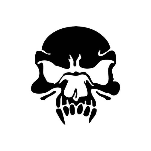 Skull 261 Vinyl Sticker