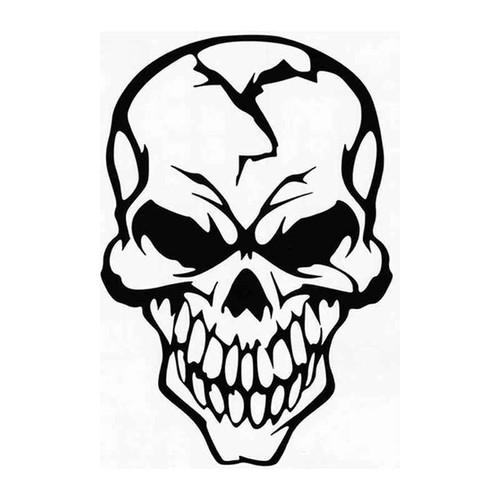 Skull 48 Vinyl Sticker