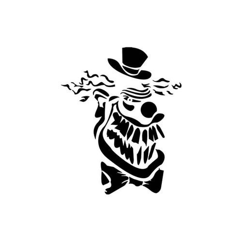 Skulls s Clown Skull Vinyl Sticker