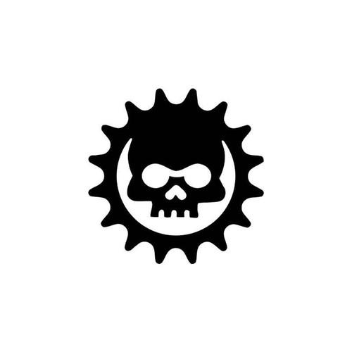 Skulls s Cog Gears Of War Skull Vinyl Sticker