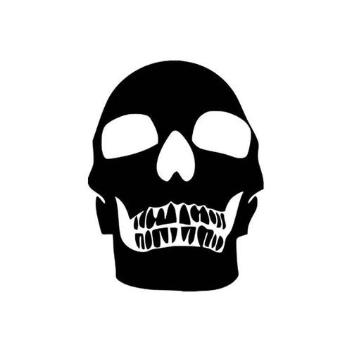Skulls s Death Skull Style 3 Vinyl Sticker