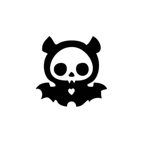 Skulls s Diego Bat Skelanimal Skull Vinyl Sticker