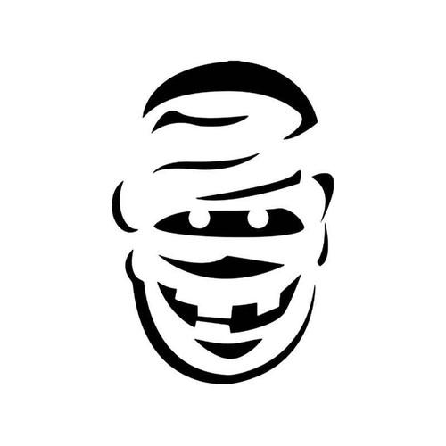 Skulls s Mummy Skull Vinyl Sticker