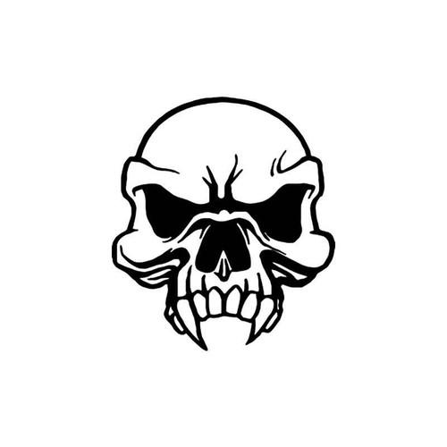Skulls s Vampire Death Skull Style 5 Vinyl Sticker