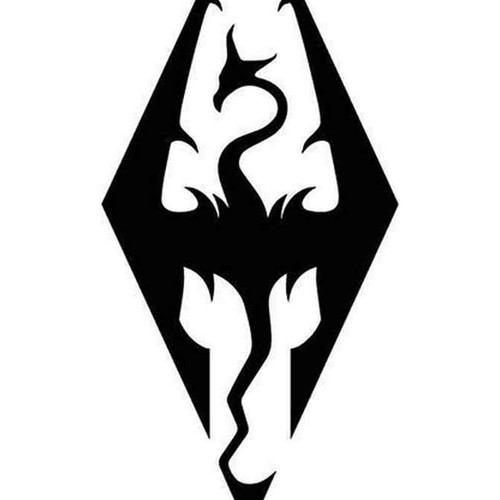 Skyrim Imperial Symbol 07 Vinyl Sticker
