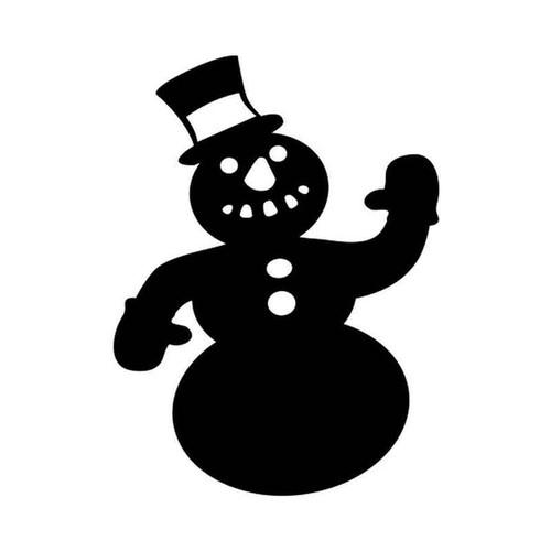 Snowman 59 Vinyl Sticker