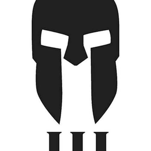 Spartan Helmet Iii 291 Vinyl Sticker