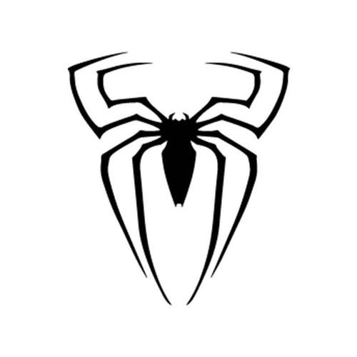 Spiderman Logo Spiderman Silhouette Vinyl Sticker