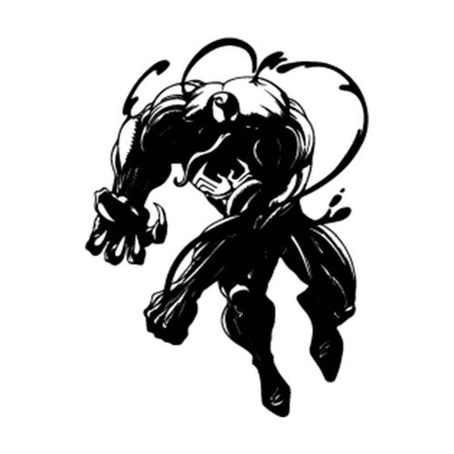 Spiderman Venom 3 Vinyl Sticker