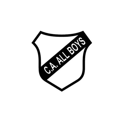 All Boys Futbol Vinyl Sticker