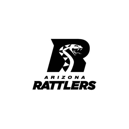 Arizona Rattlers Afl Vinyl Sticker