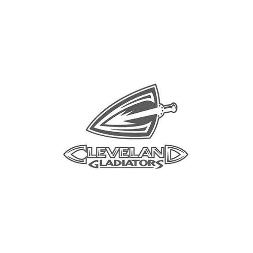 Cleveland Gladiators Afl Vinyl Sticker
