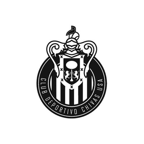 Club Eportivo Chivas Usa Mls Style 1 Vinyl Sticker