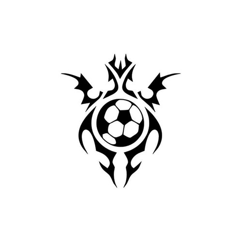 Soccer Ball Recreational Style 2 Vinyl Sticker