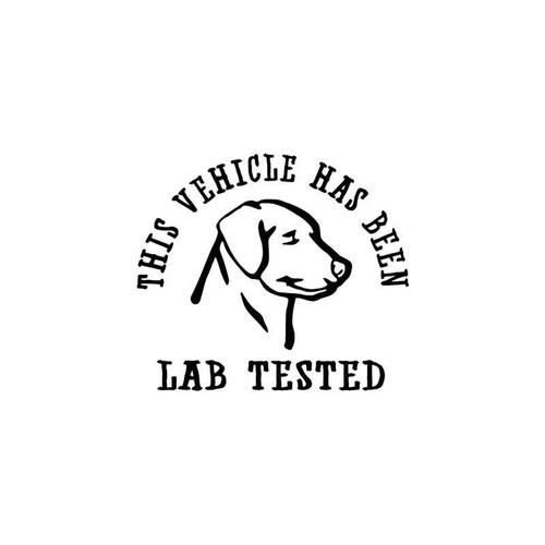 Lab Tested Sportsman Vinyl Sticker