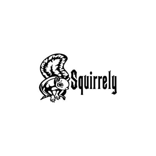 Squirrel Hunting Sportsman Vinyl Sticker
