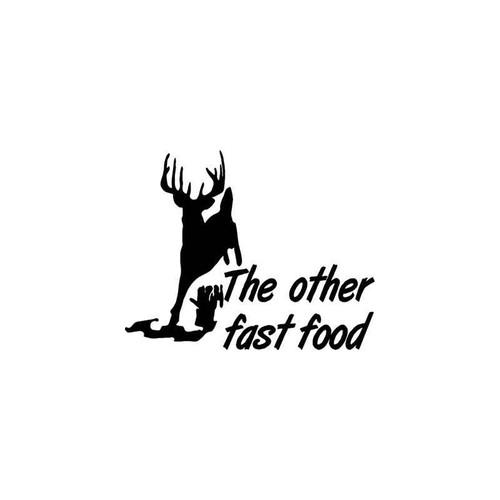 The Other Fast Food Sportsman Vinyl Sticker