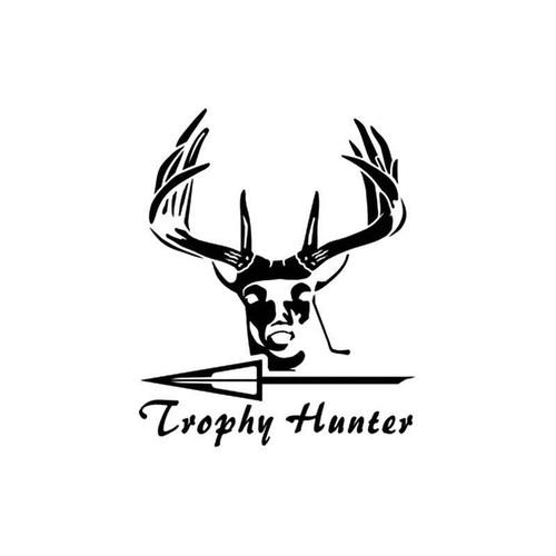 Trophy Hunter Bowhunting Vinyl Sticker