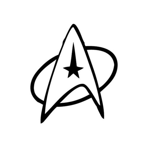 Star Trek 362 Vinyl Sticker