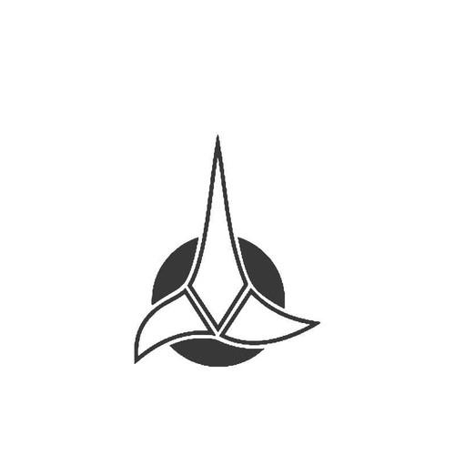 Star Trek Klingon Bumper Spock Vinyl Sticker