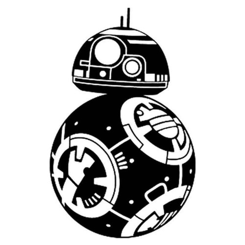 Star Wars Bb8 166 Vinyl Sticker