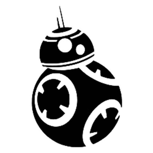 Star Wars Bb8 891 Vinyl Sticker