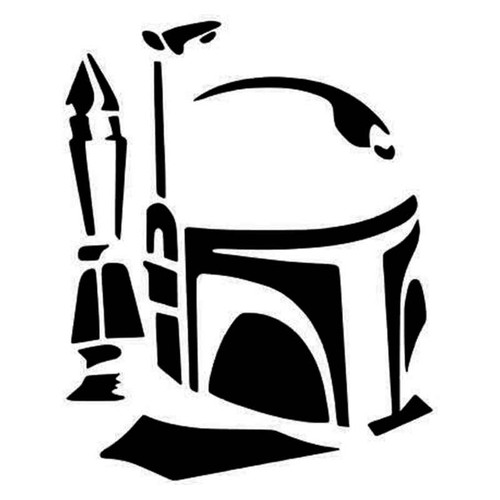 Star Wars Boba Fett Vinyl Sticker
