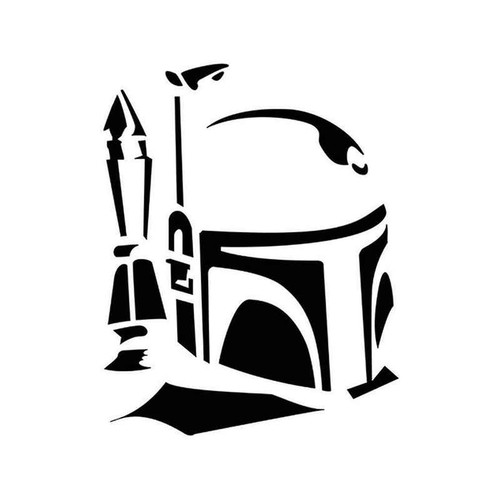 Star Wars Boba Fett 23 Vinyl Sticker