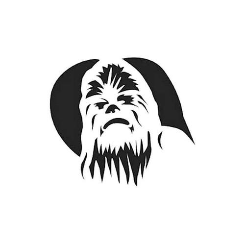 Star Wars Chewbacca 003 Vinyl Sticker