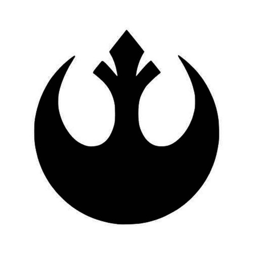 Star Wars Rebel Logo Vinyl Sticker
