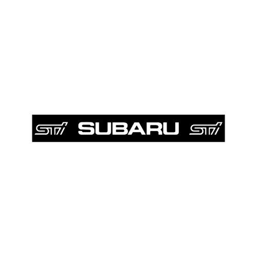 Subaru Sti Decal