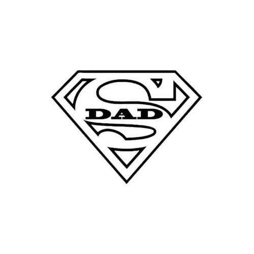 Super Dad 129 Vinyl Sticker