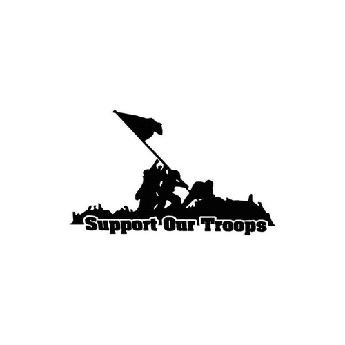 Support Our Troops 033 Vinyl Sticker