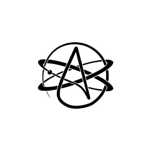 Atheism Symbolic Vinyl Sticker