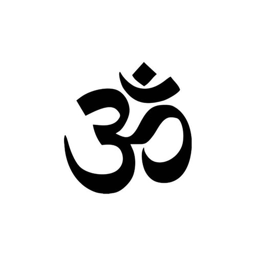 Aum Om Hindu Vinyl Sticker