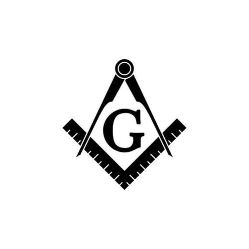 Freemason Masonic Templar Vinyl Sticker