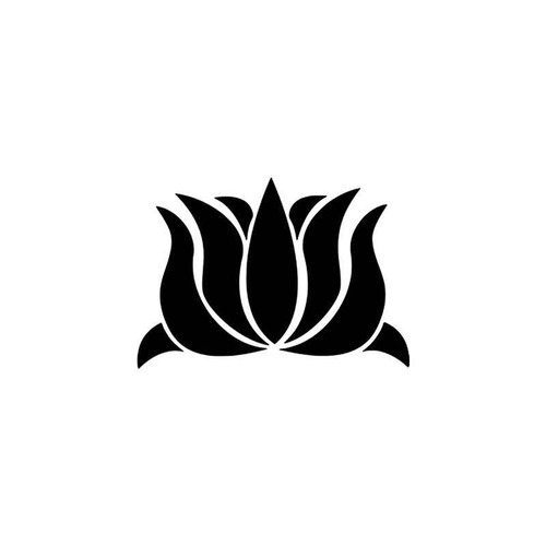 Lotus Flower Vinyl Sticker