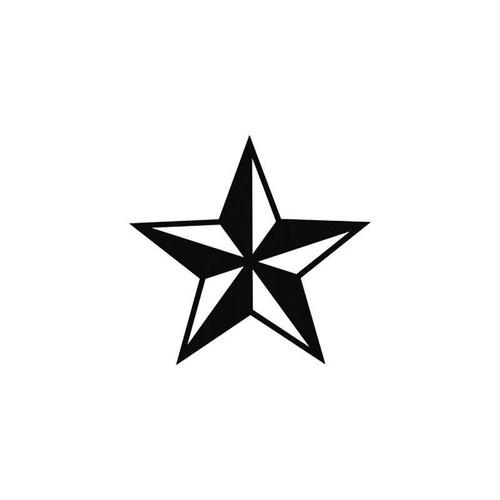 Nautical Star Vinyl Sticker
