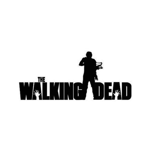 The Walking Dead Daryl Twd Vinyl Sticker