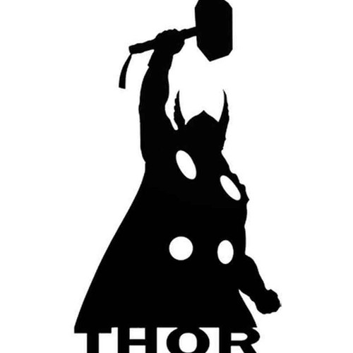 Thor 43 Vinyl Sticker