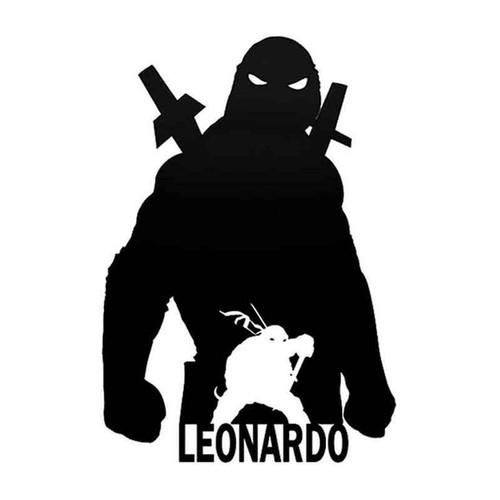 Tmnt Leonardo 014 Vinyl Sticker