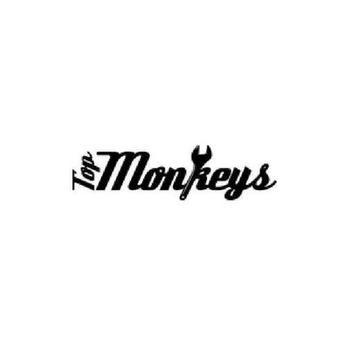 Top Monkeys Squad Vinyl Sticker