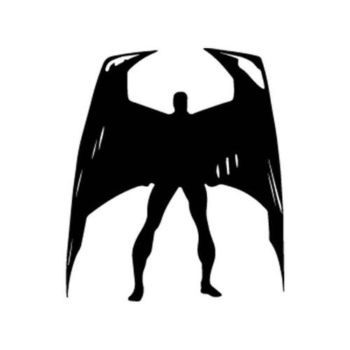 X Men Angel 3 Vinyl Sticker