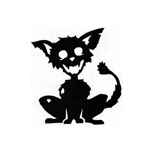 Zombie Cat 094 Vinyl Sticker