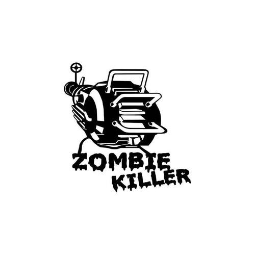 Zombie Killer Vinyl Sticker