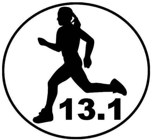 13.1 Miles Half Marathon Woman